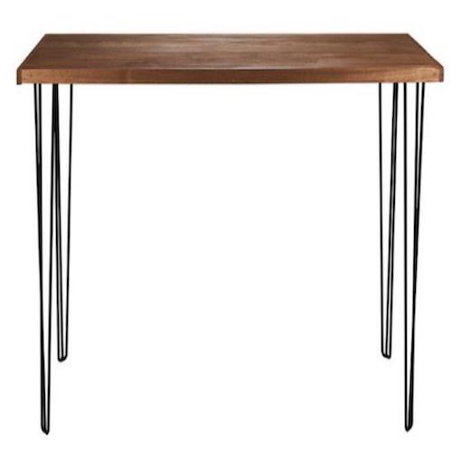 black hairpin bar table