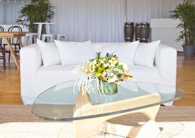 White Linen Hamptons Sofa Frank And Joy