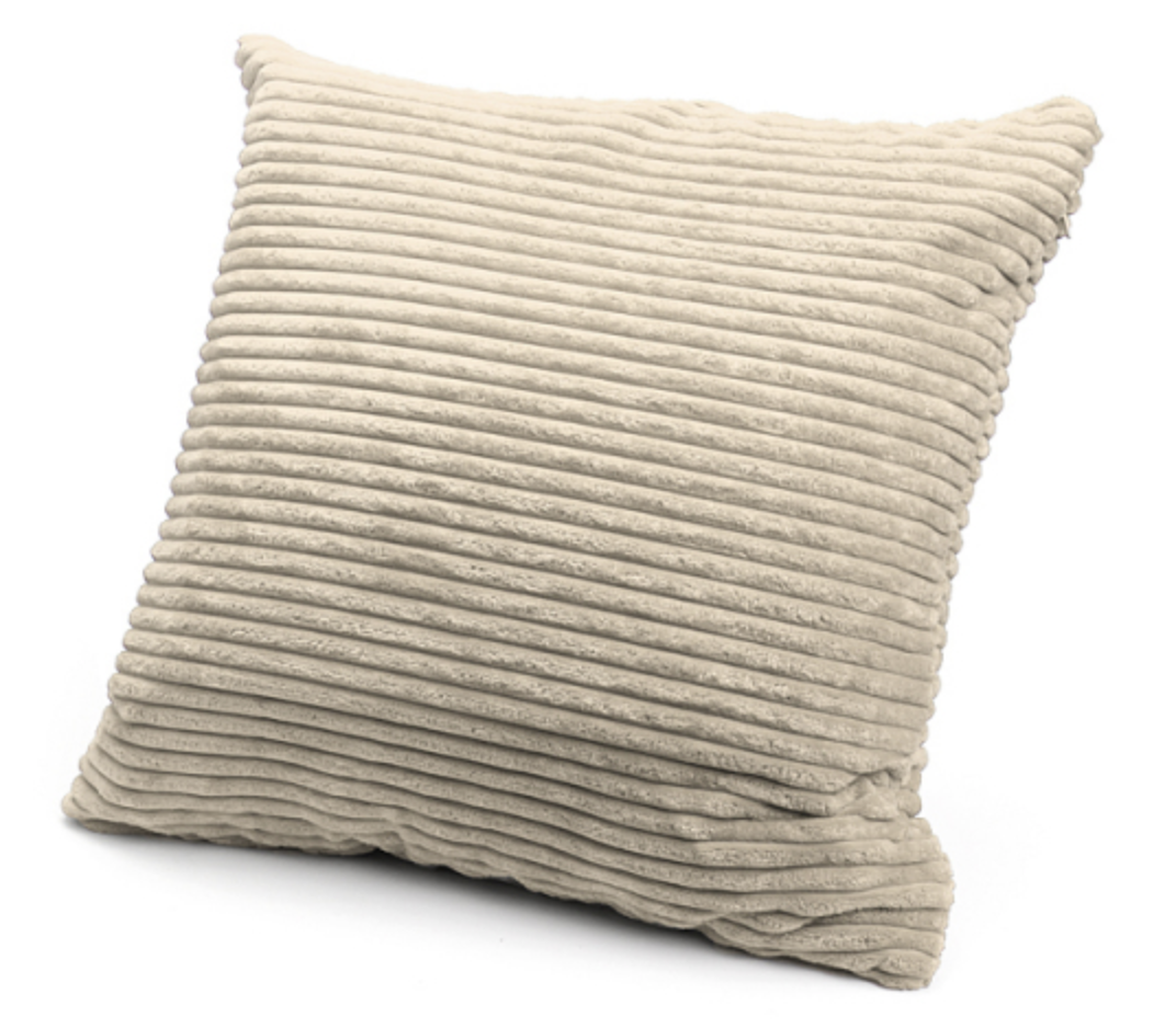 Natural cream large floor cushion - Frank and Joy