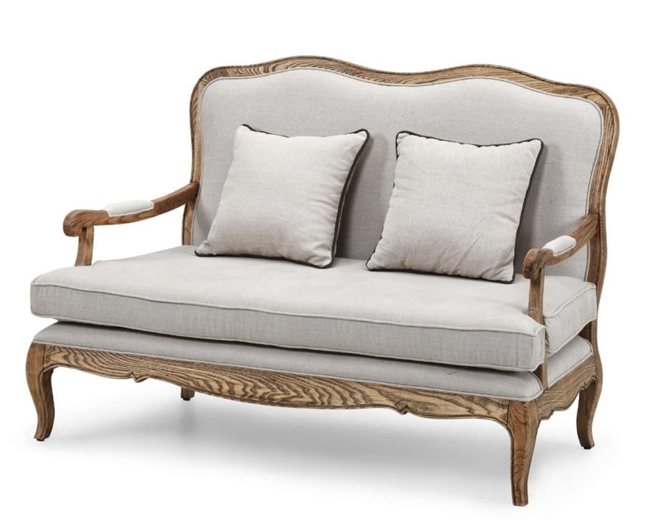 French Linen Sofa Frank And Joy