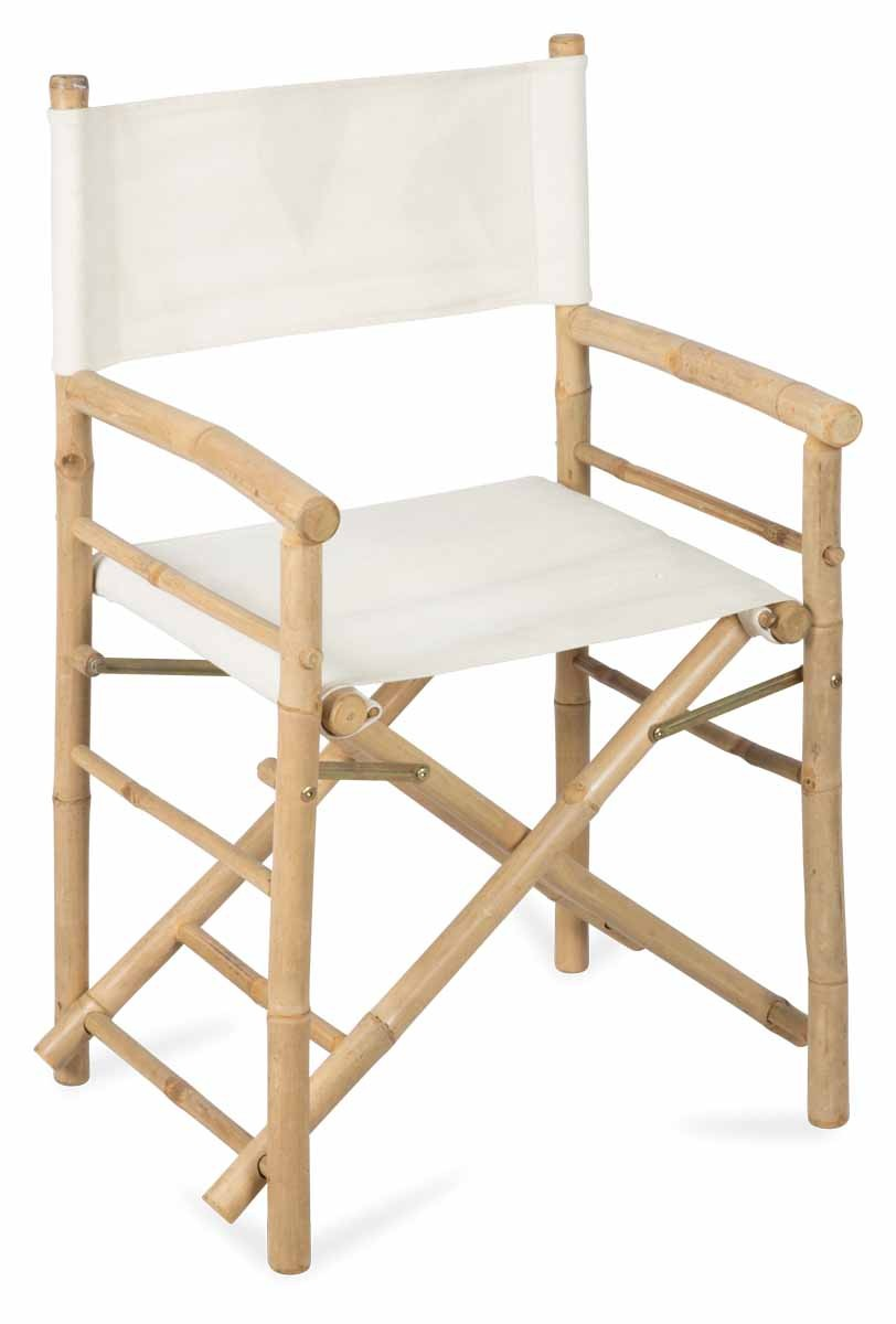 Incroyable Bamboo Directors Chair