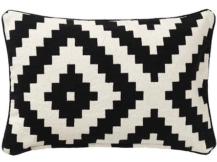 Lappljung Ruta Cushion Cover Black 0214040 Pe369744 S4