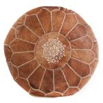 Tan Morrocan Ottoman